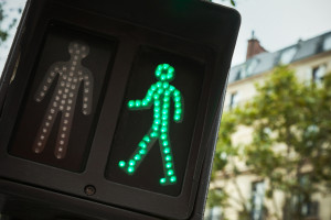 Green Walk Signal