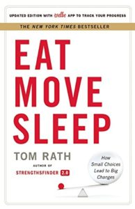 Eat, Move, Sleep Cover
